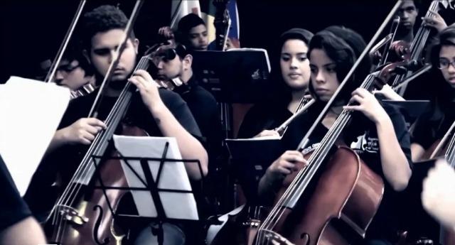 Orquestra Maré do Amanhã nas Agulhas Negras